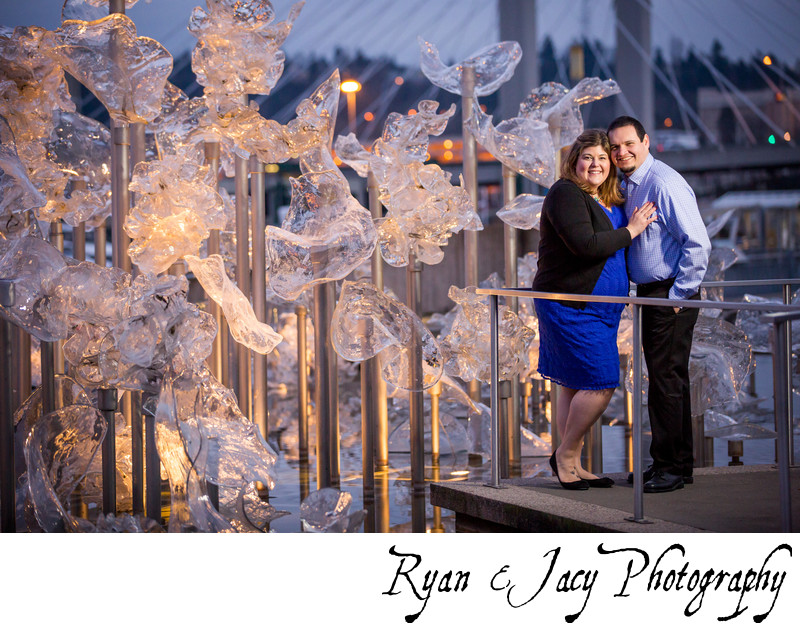 Engagement Photo in Tacoma