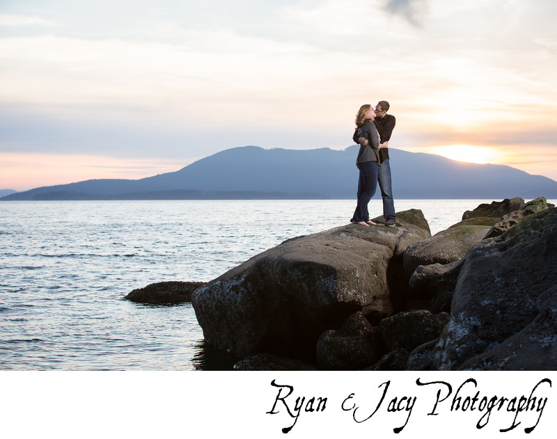 Engagement Photos Larrabee State Park