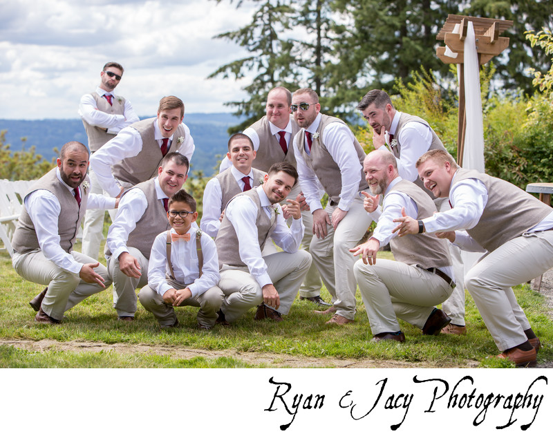 Snohomish Wedding Photographs