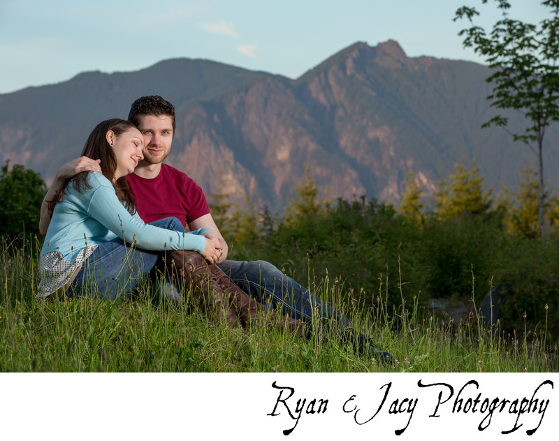 Engagement photos Snoqualmie Ridge
