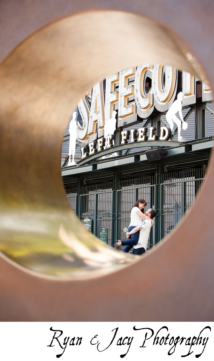 Engagement Pictures SafeCo Field