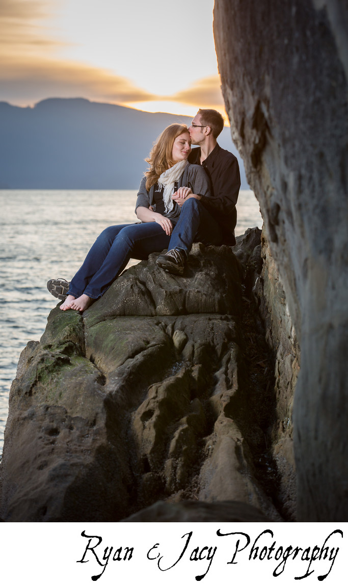 Engagement Photography Larrabee State Park
