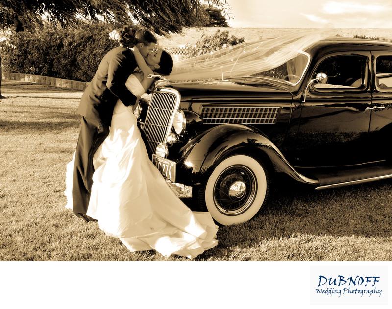wedding classic car