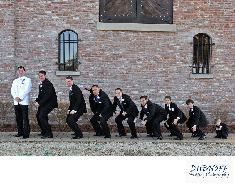 Groomsmen Evolution Wedding Photography at the best Venue
