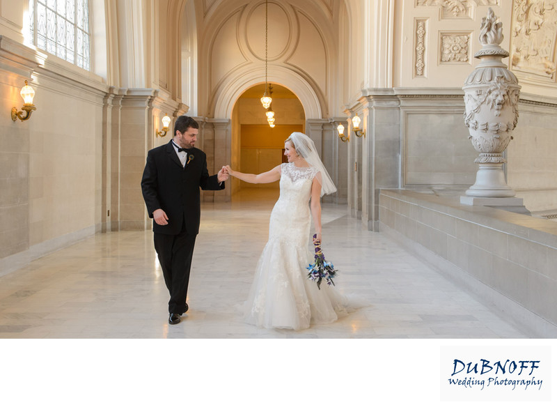 San Francisco City Hall Wedding Photographer - Candid Photo