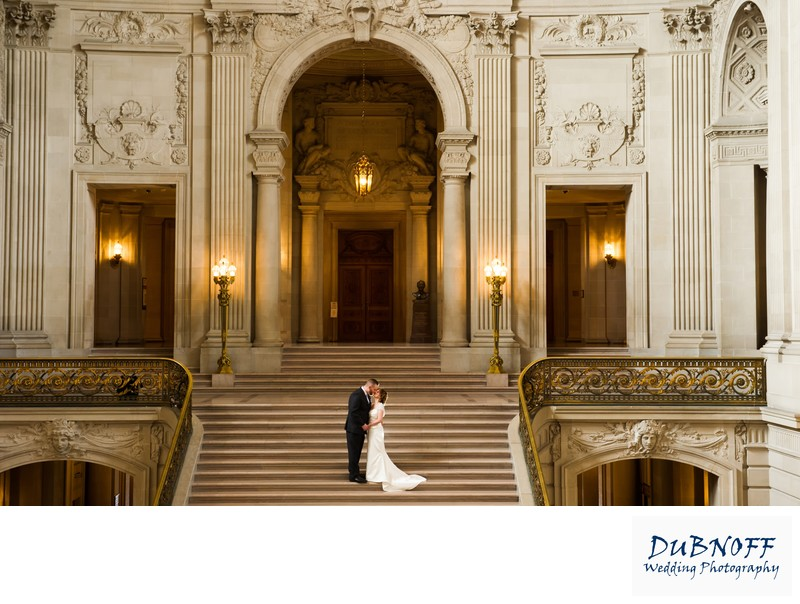 Beautiful View of San Francisco City Hall Architecture
