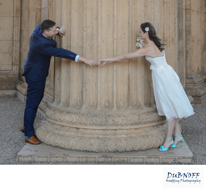 Fun Couple Enjoying Wedding Photography in San Francisco