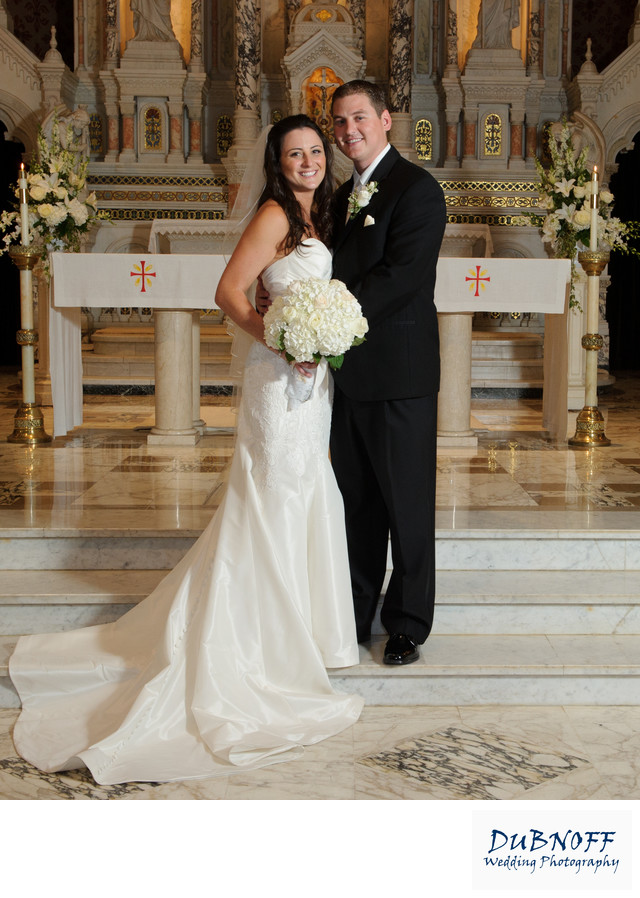 Saint Peter and Pauls Catholic Church Wedding Picture