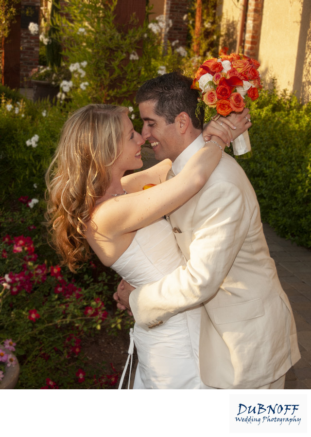 Pleasanton wedding photography with Flowers at the Palm Event Center
