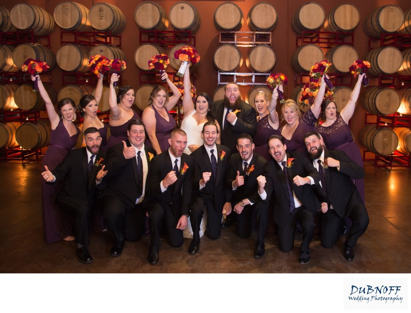 Wedding Reception in the Livermore Wine Country - Palm Event Center