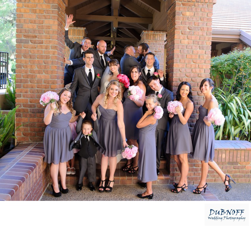 Wedding Party in Danville at the Blackhawk Country Club