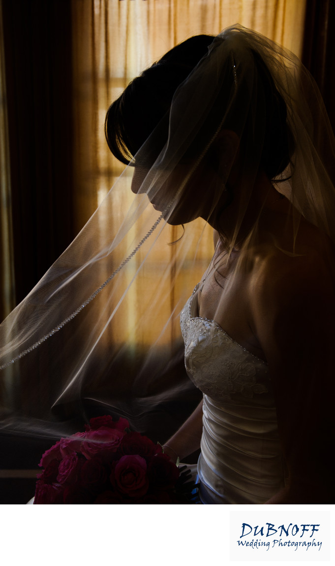 bridal prep profile photography with golden background