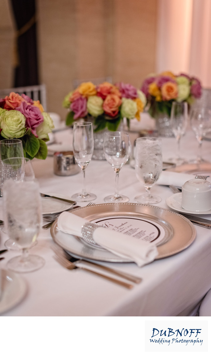 Wedding Reception Decor Photography - Detail Images