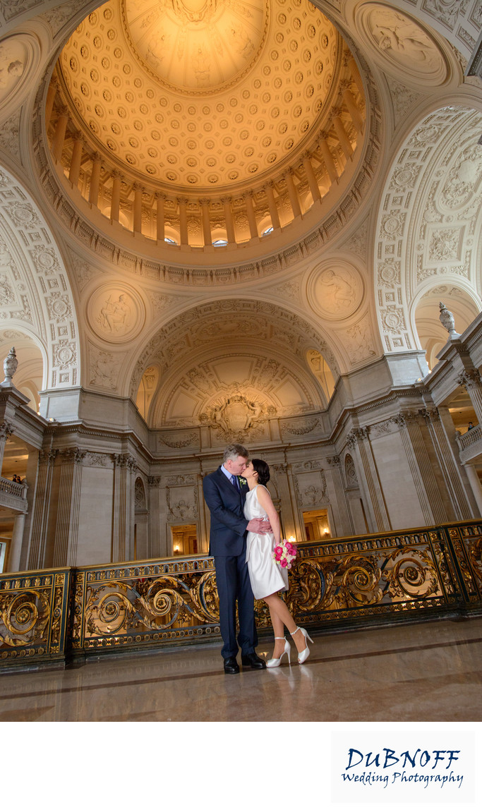 San Francisco City Hall Wedding photography
