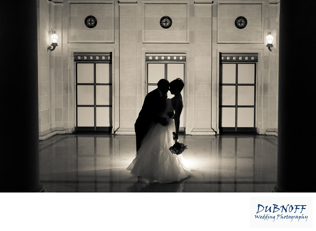 dramatic wedding photography image in San Francisco