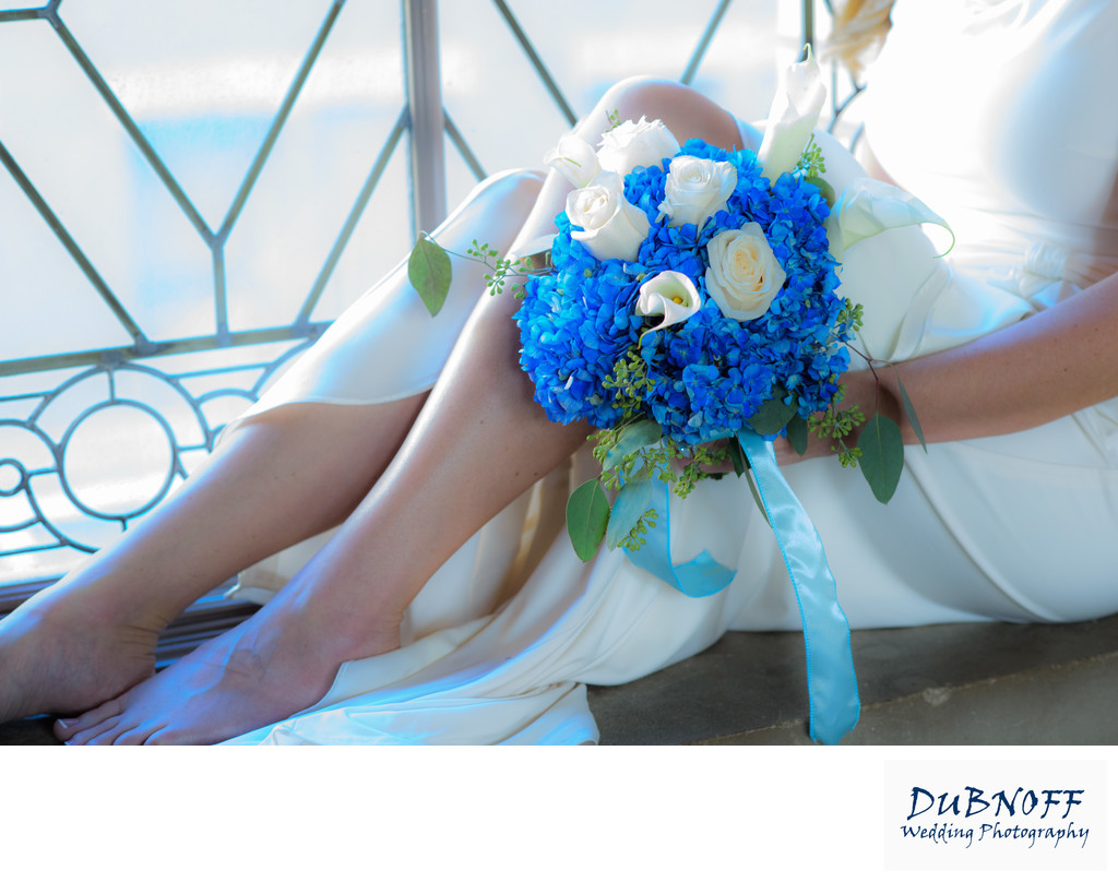 Professional City Hall Wedding Photographer - Bouquet Image