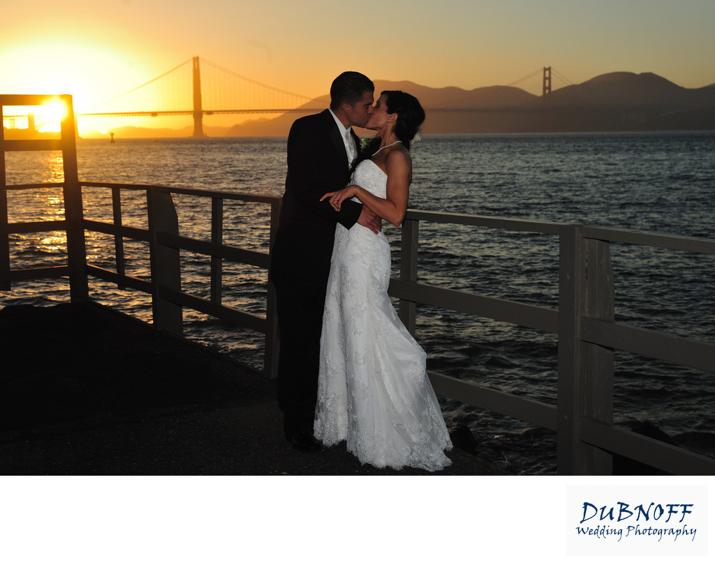 Golden Gate Bridge - San Francisco Wedding Photography