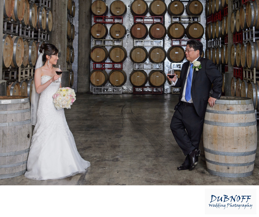 Wedding Photographer Wente Vineyards - Livermore Wine Country