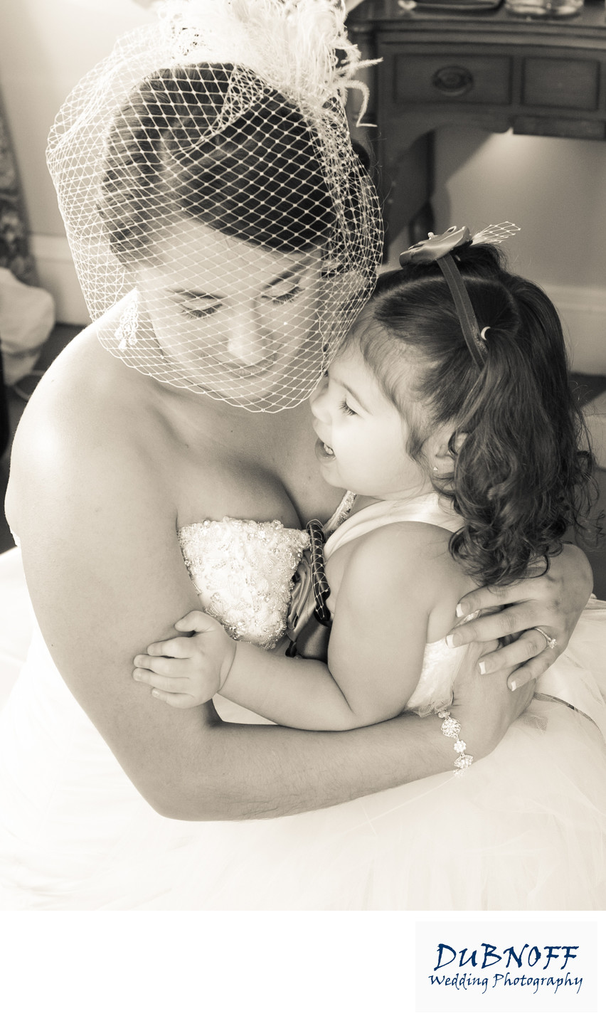 Berkeley City Club Wedding Photography - Bride with Daughter