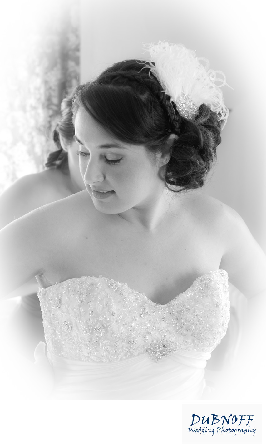 Wedding Photography of Bride Getting Ready at the Berkeley City Club
