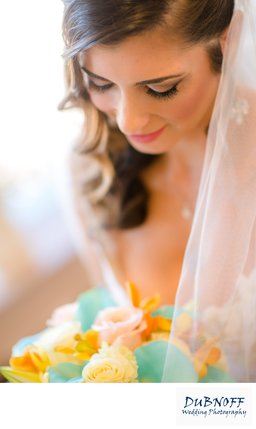 Bridal Prep photo with Flowers in the San Francisco,  Bay Area
