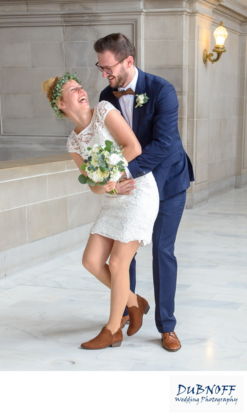 Fun and Candid Wedding Photography at San Francisco City Hall