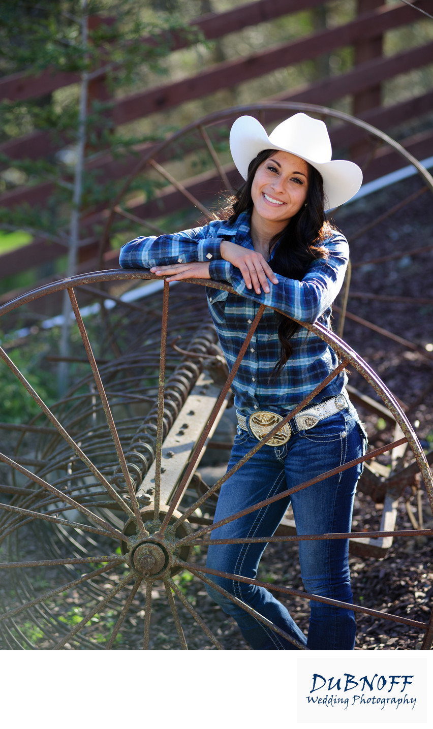Cowgirl Portrait session in the San Francisco Bay Area