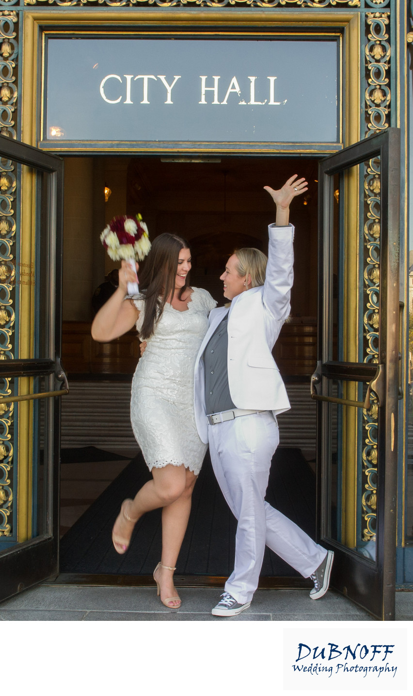 LGBTQ Wedding at City Hall - San Francisco Photography
