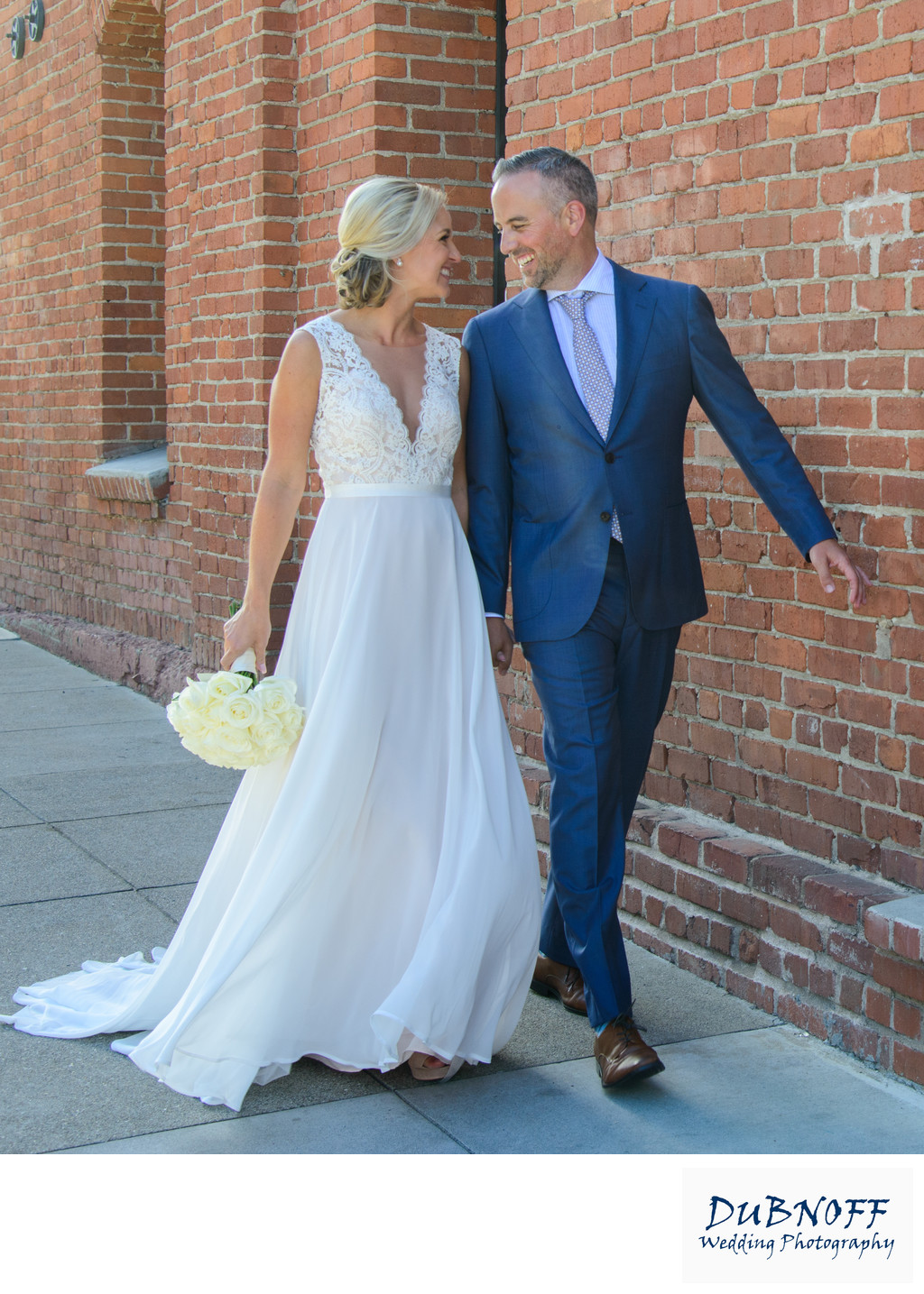 Wedding Walk in North Beach, San Francisco