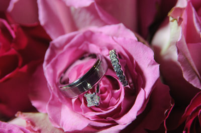 blackhawk wedding rings in Bouquet of Flowers In Danville