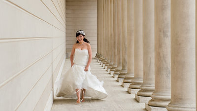 San Francisco City Hall Wedding Photographer - Legion of Honor