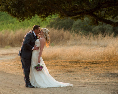 sunset nuptials in the bay area