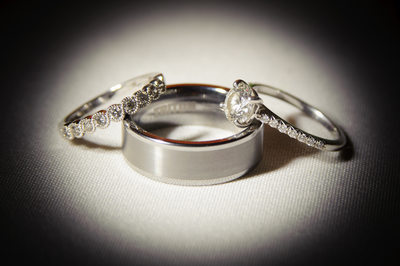 wedding ring spotlight