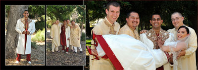 indian wedding album page 6