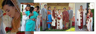 indian wedding album page 16