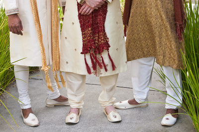 indian groom shoes