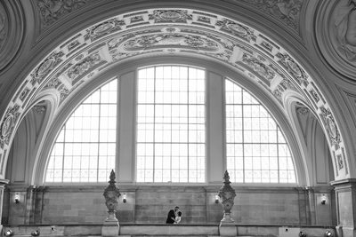 San Francisco City Hall Wedding Photographer - Amazing Architecture