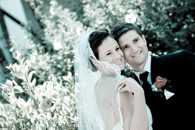 colorized wedding photography in Walnut Creek, California