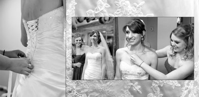 blackhawk country Club wedding photography album page 3