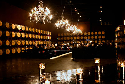 The Cellar Room at the Palm Event Center