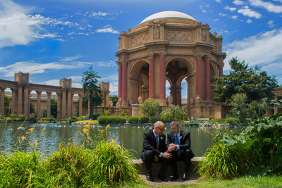 San Francisco City Hall Wedding Photography at the Palace - Same Sex