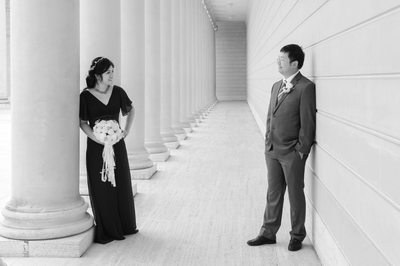 San Francisco Legion of Honor Wedding Photography