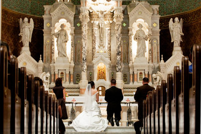 San Francisco Church Wedding Photography - St Peters and Paul