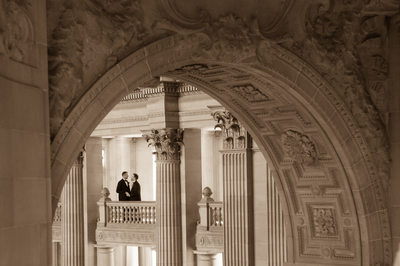 Architecture Featured in Same-Sex marriage at SF City Hall