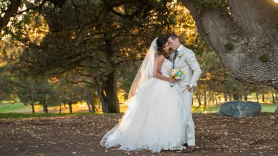 San Francisco Bay Area Panoramic Wedding Photography