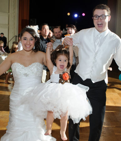 lifting flower girl