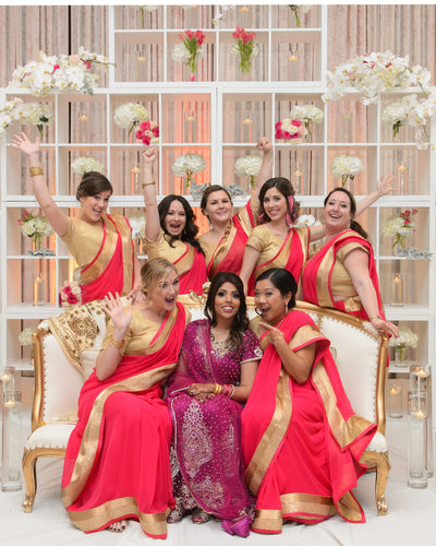 Indian Wedding Party Having fun with a Bay area Bride
