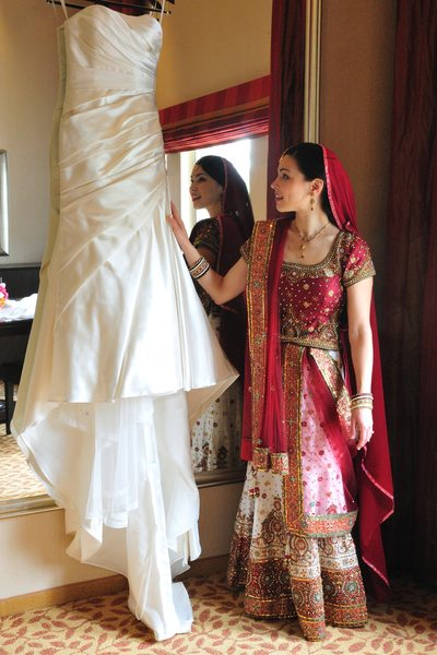 sikh bride traditional dress