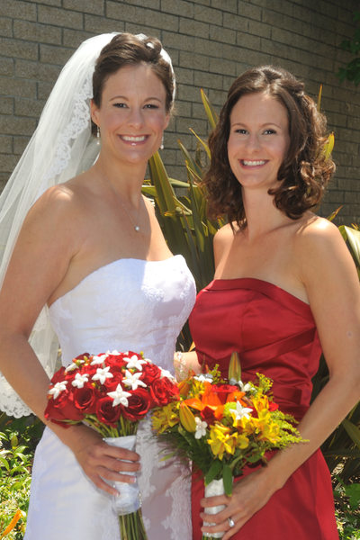 Twin Bride in the San Francisco Bay Area
