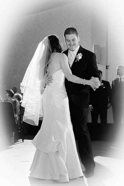First Marriage Dance Black and White wedding photography